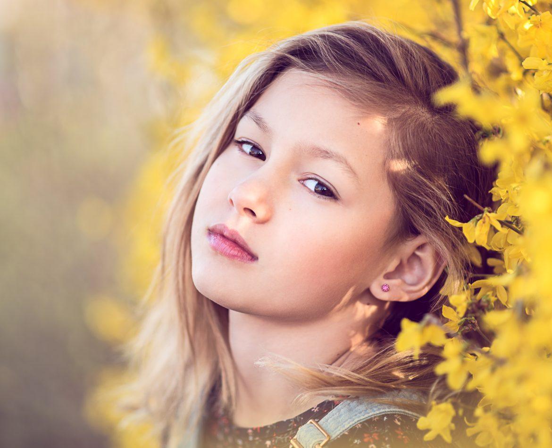 Kinderportret lente