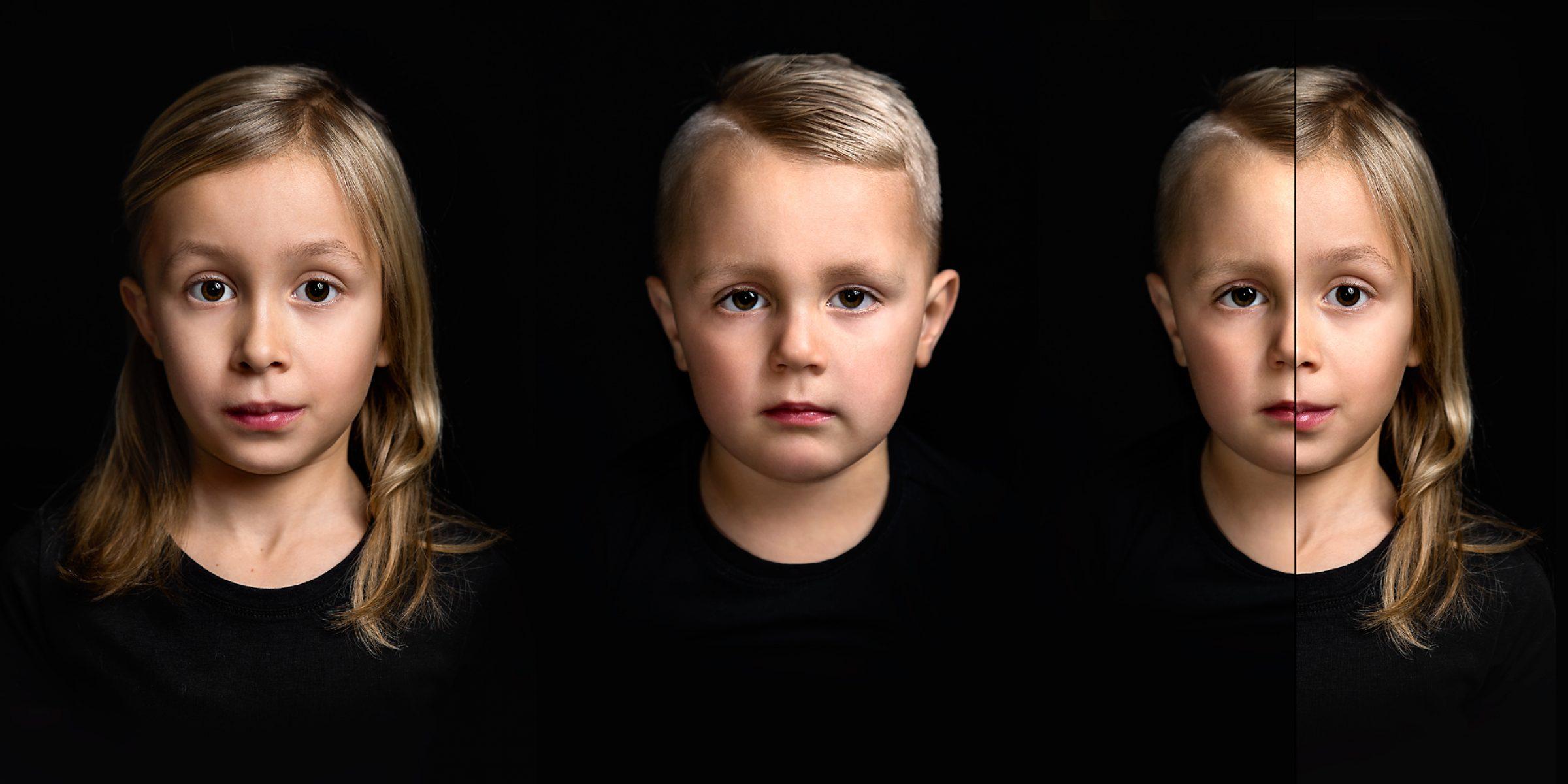 2 in 1 portret zoe Jake